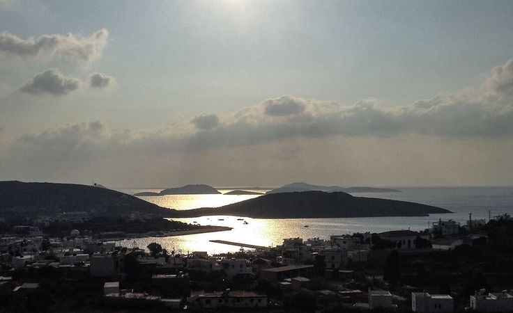 Evening view over Lipsi