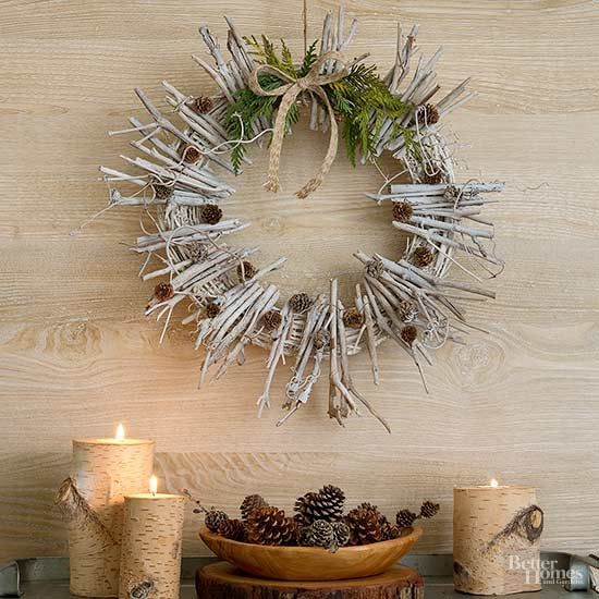 62 Christmas decoration ideas with natural materials