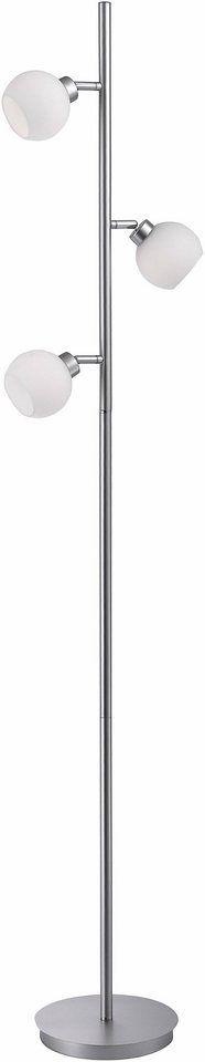 Leuchten Direkt Stehleuchte, 3flg., »LOTTA« für 59,99€. Moderne Stehleuchte, 3-flammig, Leuchtköpfe individuell einstellbar bei OTTO