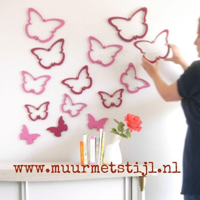 ... muurdecoratie op je muur. Met een handig 3M plaklaagje. Laat je