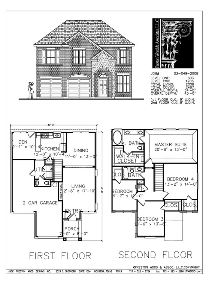 Award winning house plans 2008 house design plans for Award winning floor plans