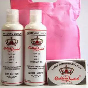 PAKET LOTION MAHKOTA INDAH + SABUN ORIGINAL - Beauty Care Indonesia