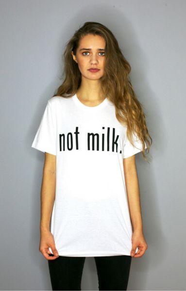 Not Milk UNISEX TEE