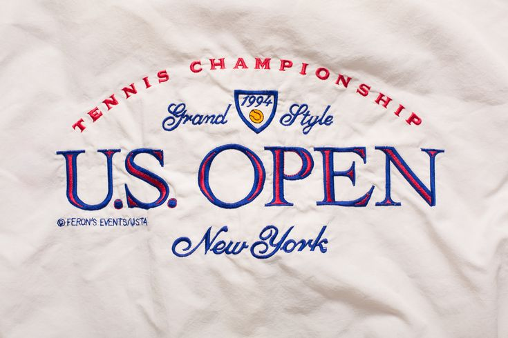 Vintage 90s US Open 1994 Tennis Tournament Jacket, New York Sportswear