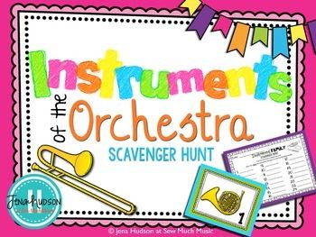 Instruments of the Orchestra Scavenger Hunt is designed to get your students up and moving while also reviewing the instruments of the orchestra. The teacher will place the instrument cards around the room before the students enter. Each student will receive a scavenger hunt worksheet to complete on their journey.