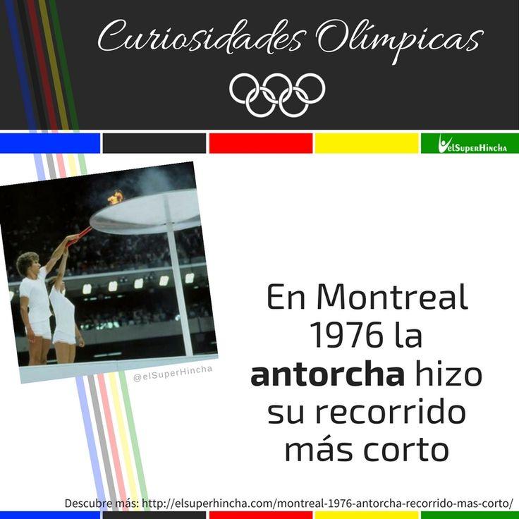 En 1976, la llama olímpica viajó desde Olimpia a Montreal en menos de una semana. Ni te imaginas cómo lo lograron... #CuriosidadesOlímpicas #JuegosOlímpicos #Rio2016