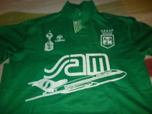 Camiseta Atletico Nacional Torino 1993 (#6) - $ 300.000