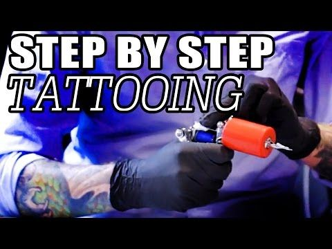 Tattooing for Beginners: Step by Step How To Tattoo Tutorial - Tattoo Training | Tattoo Course