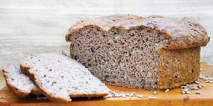 Gluten-Free Rustic Bread Paine rustica fara gluten cu seminte reteta