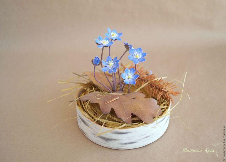 """Купить """"Весенние первоцветы"""" - видео мастер-класс по фоамирану - мк фоамиран, цветы из фоамирана мк"""