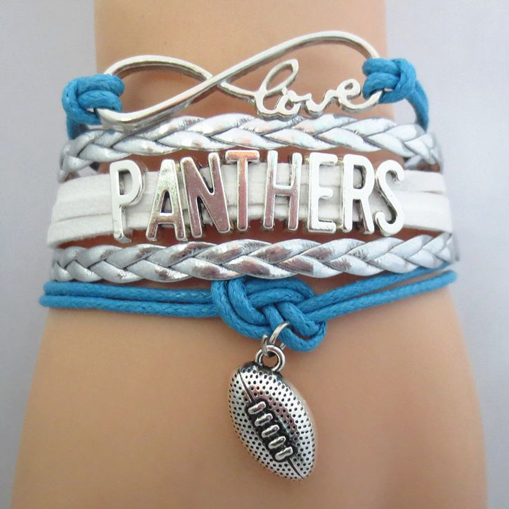 INSPIRATION: Infinity Love Carolina Panthers Football BOGO