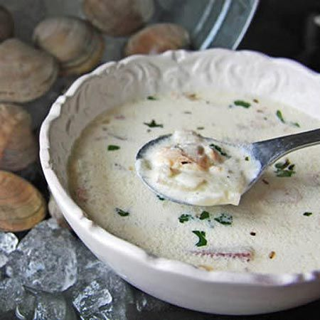 James Cagney's New England Clam Chowder