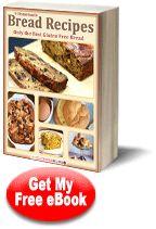 """9 Homemade Bread Recipes: Only the Best Gluten Free Bread""   Free eCookbook | FaveGlutenFreeRecipes.com"