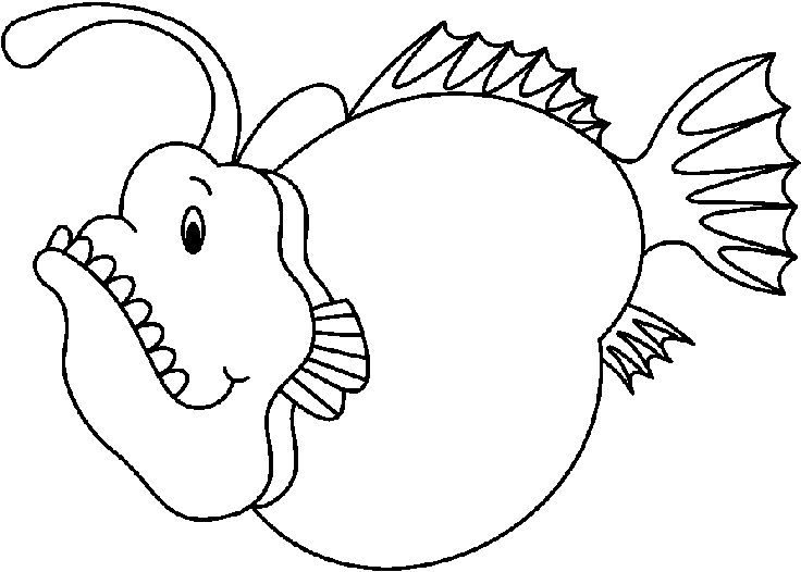 free carson dellosa fish coloring pages