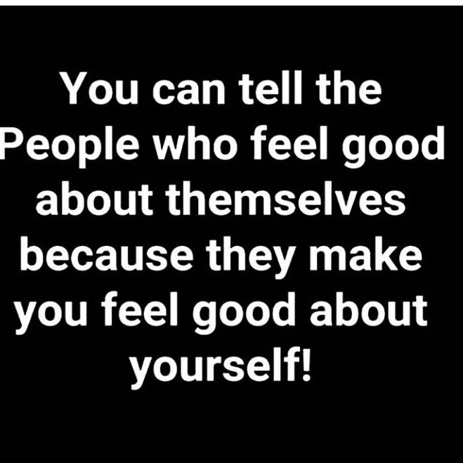 I feel better about ppl then myself. I believe in others and back n forth with self at times