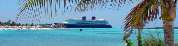 Jim took a pic taken from about this same angle when we were on Castaway Cay, Disney's island.