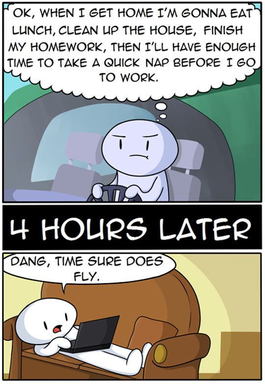 4 Hours Later funny comics jokes funny quote internet funny sayings procrastinate humor funny pictures comic funny images