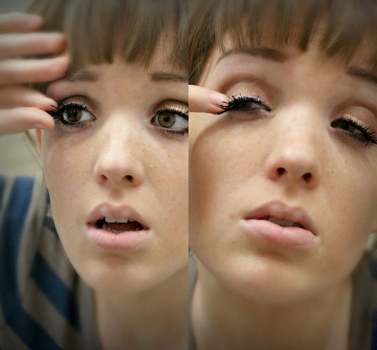 The Freckled Fox - a Hairstyle Blog: Eyelash Tutorial: The quick and easy way!