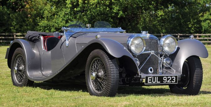 The London RMC Classic Car Auction 8th - 9th Sept. - News | MotorMouth UK 1938 SS 100 Jaguar 2½-Litre Roadster