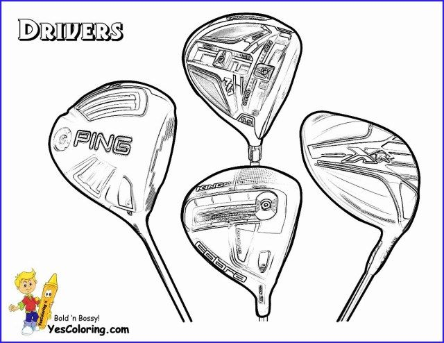 27 Beautiful Picture Of Golf Coloring Pages Sports Coloring