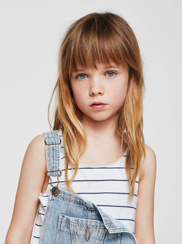 Madchen Frisuren Mit Pony Kinder Haar Kinderhaarschnitte Madchen Haarschnitt