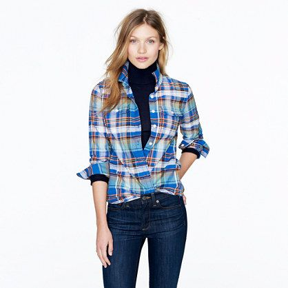 Tartan flannel shirt- flannel is so amazing in Chicago. Seriously, flannel is my friend. It keeps me warm.