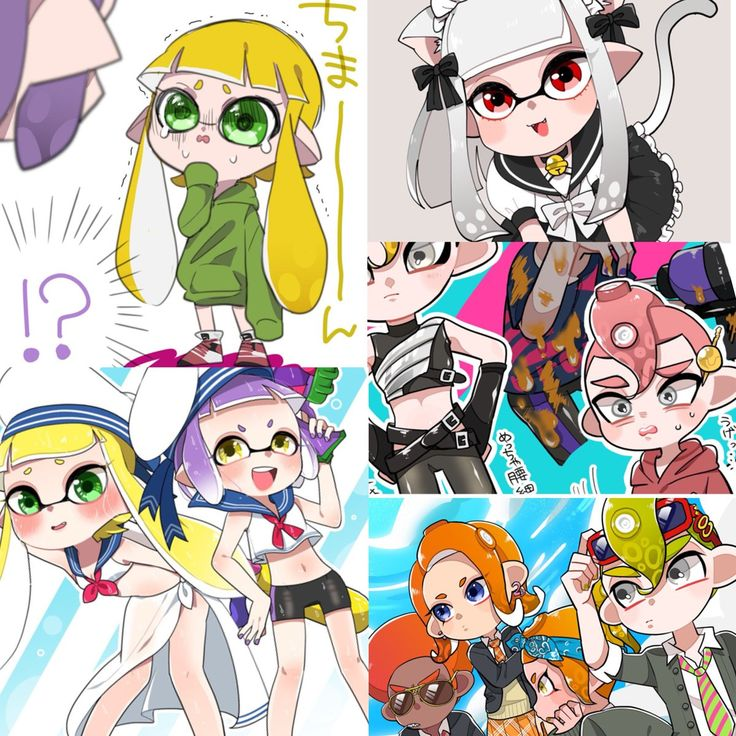 Pin by Sukira on Splatoon / オクト Nintendo splatoon, Anime