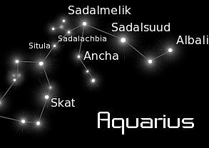 Skat (aka Delta Aquarii) in the constellation Aquarius is the near radiant point for the Delta Aquarid meteor shower which peaks in late July and early August.