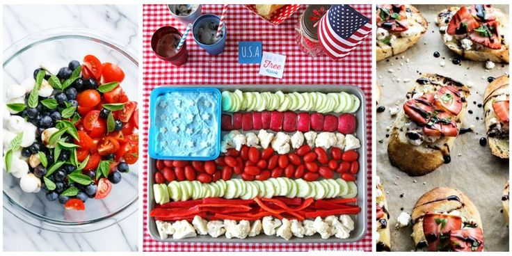 Kick off your Independence Day festivities with these delicious party starters.