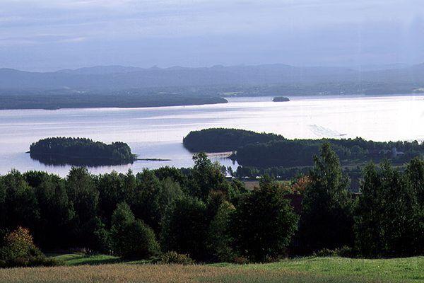 Lake Orsa (Orsasjön) - Orsa, Dalarna, Sweden.