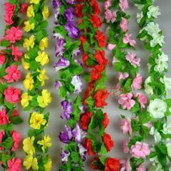 Моделирование ротанг стены выросли искусственные цветы украшают гостиную кондиционер протоков пластиковые цветы персика ротанг потолка стены стикеры