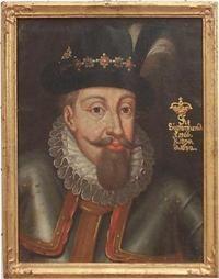 Lietuvos didžiojo kunigaikščio ir Lenkijos karaliaus Žygimanto Vazos (1566–1632) portretas. Vesternorlando muziejus. / Portrait of Grand Duke of Lithuania and King of Poland Sigismund Vasa (1566–1632). Murberget Länsmuseet Västernorrland.