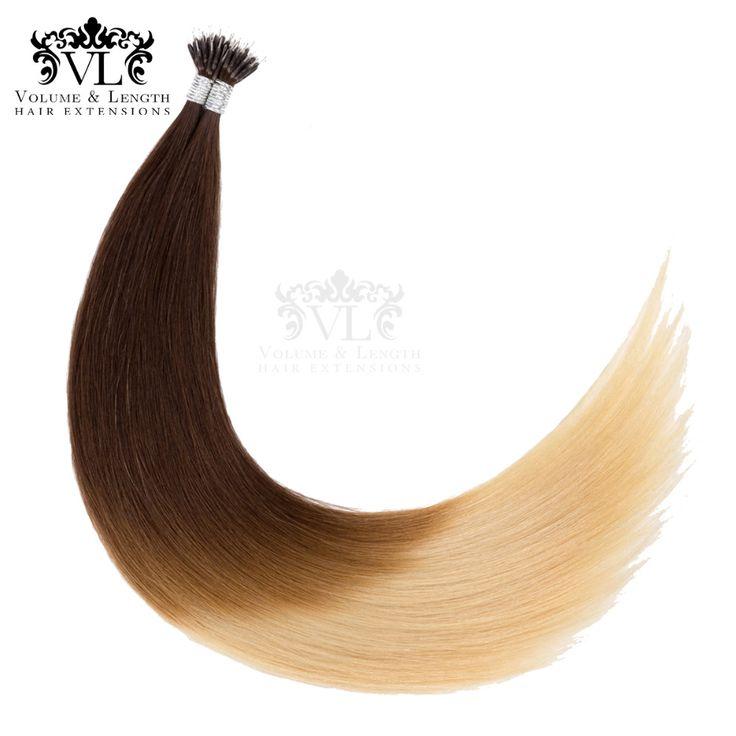 Pre Bonded Nano Tip 100% Remy Hair Extensions 14…