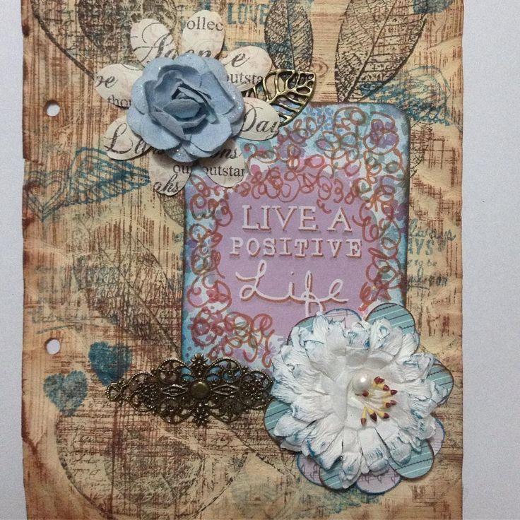 My Inspiration Journal - Live a Positive Life