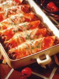 Beef Enchiladas - This enchilada recipe will have you at the dinner