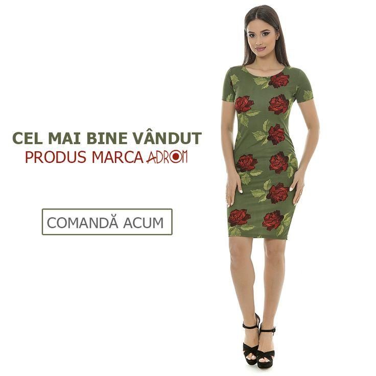 Comandă și tu pentru magazinul tău rochia best-seller marca Adrom Collection, R262, disponibilă pe mai multe imprimeuri. http://www.adromcollection.ro/rochii/50-rochie-angro-r262.html