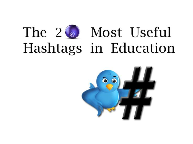 How to get some learning resources on Twitter? Try using these hashtags and discover a multitude of educational tools and ideas.