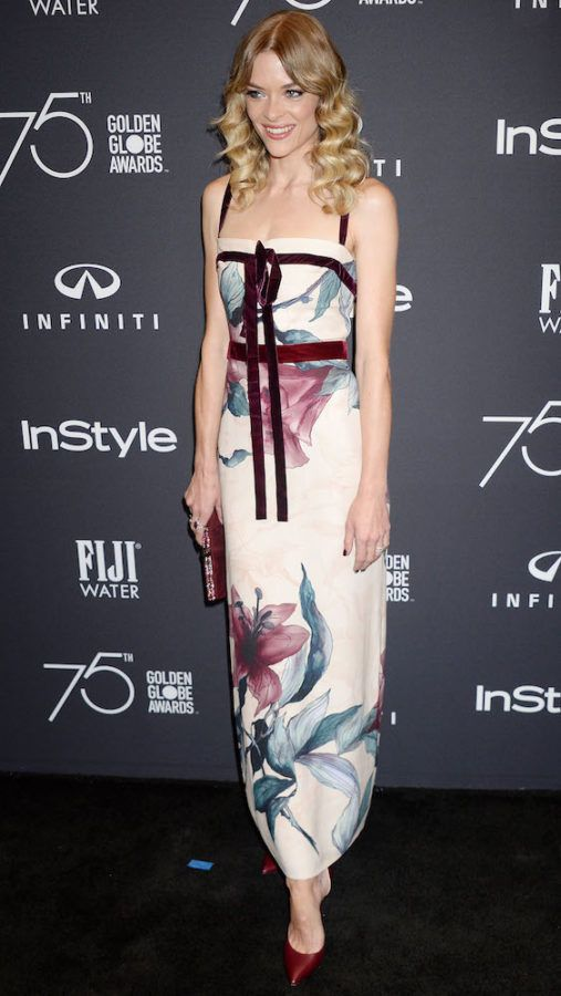 Jaime King in Elie Saab