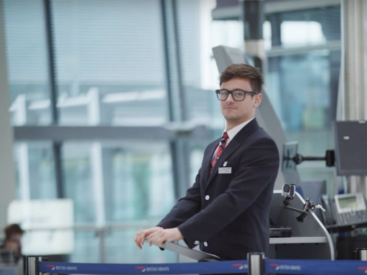 Tom Daley & Other Celebs Prank British Airways Travelers for Red Nose Day