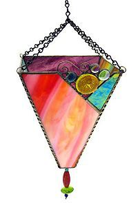 Emily Holmes Design - Unique Stained Glass and Metal Candle Holders & Lanterns