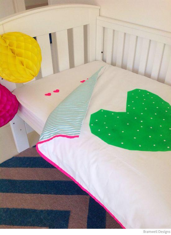 Bondville: Bramwell Designs hip kids bed linen
