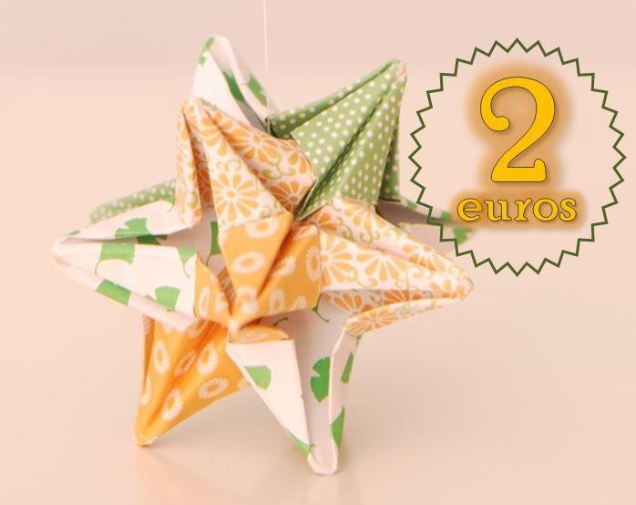 Origami facil. Papiroflexia. estrella star