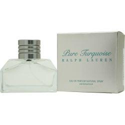 Pure Turquoise is een Houtig en groen parfum voor dames, met zwarte bes bloesem, viool blad, lelietje-van-dalen en cactusbloem in de top, oranjebloesem, roos en lelie in het hart en pachoeli, berk, amber, rum en vanille in de basis