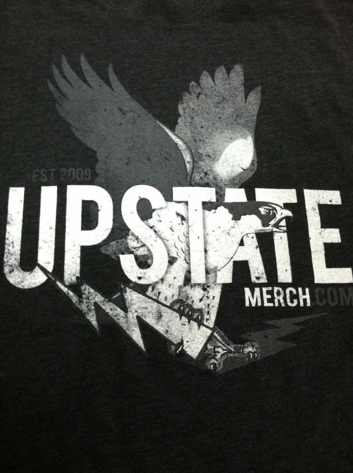 Upstate Merch. A locally owned and operated t-shirt manufacturing company. Glad to have these guys operating in the Village and glad to call them my friends.: My Friend