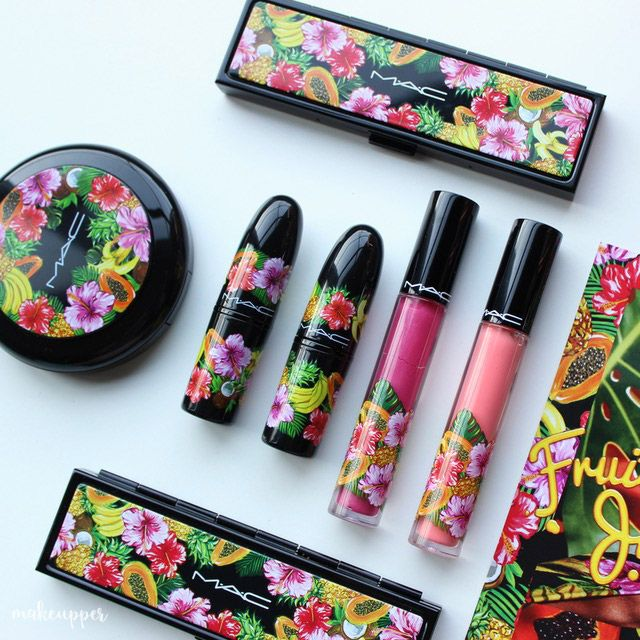 The MAC Fruity Juicy collection is so beautiful, the packaging has the most gorgeous tropical vibes and the shades in the collection are AMAZING! Check out the full blog post with swatches and FOTDs...