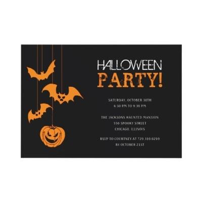 #halloween #invitation #party #zazzle