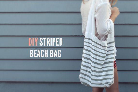diy-striped-beach-bag