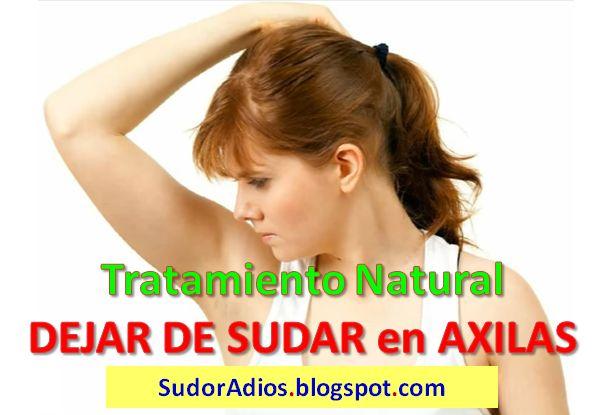 Tips para dejar de sudar en las axilas remedios caseros