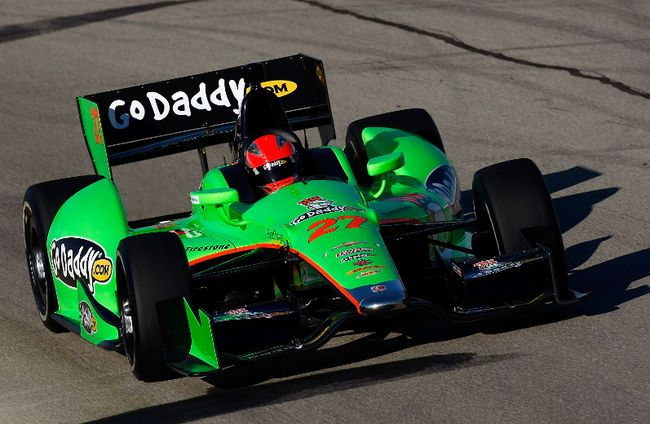 My Andretti Autosport Chevy DW12 My work car is custom moulded to my body and goes incredibly fast. Any other explanation needed? I think not