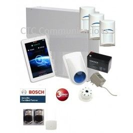 "Bosch Solution 3000 Alarm System with 3 x Gen 2 Wireless detectors+ 7"" Touch…"